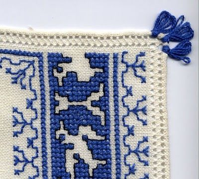 Italian Needlework: Assisi Embroidery - Part One