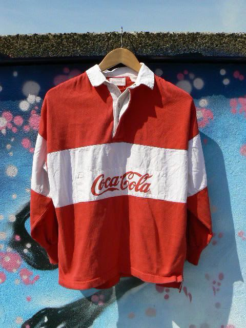 A Coca Cola rugby shirt was a must have item, along with dungarees and Kickers! @ZONE7STYLE