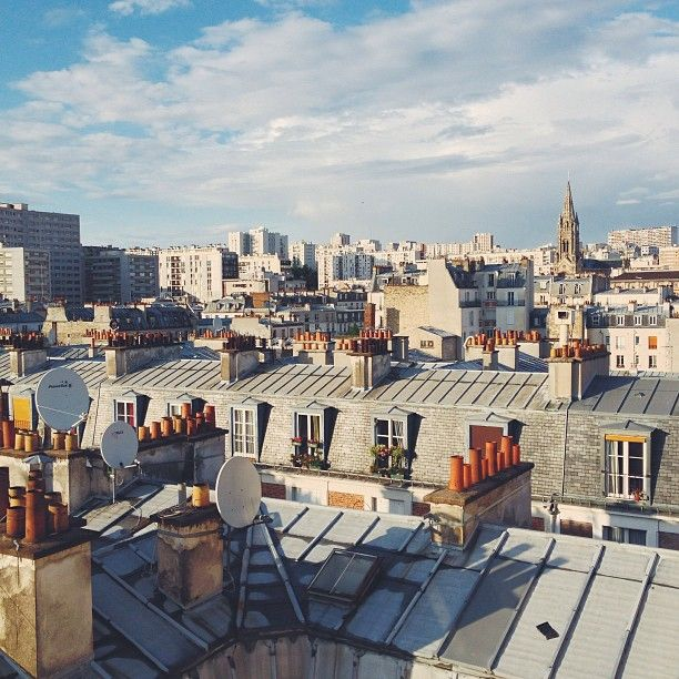 63 best images about rooftop in paris on pinterest. Black Bedroom Furniture Sets. Home Design Ideas