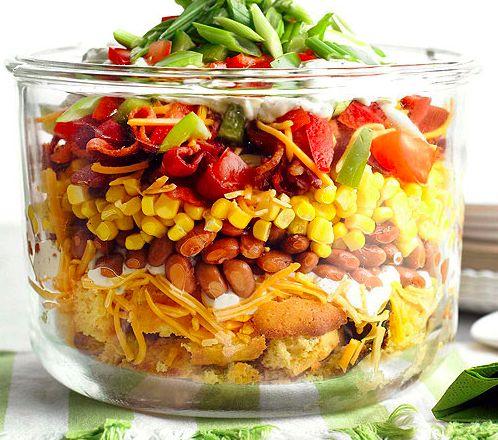 Salada de Broa de Milho