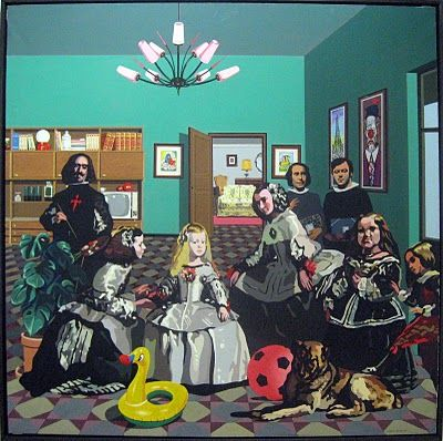 'The World Goes Pop' opens at Tate Modern on September 17th. Equipo Crónica (las Meninas)