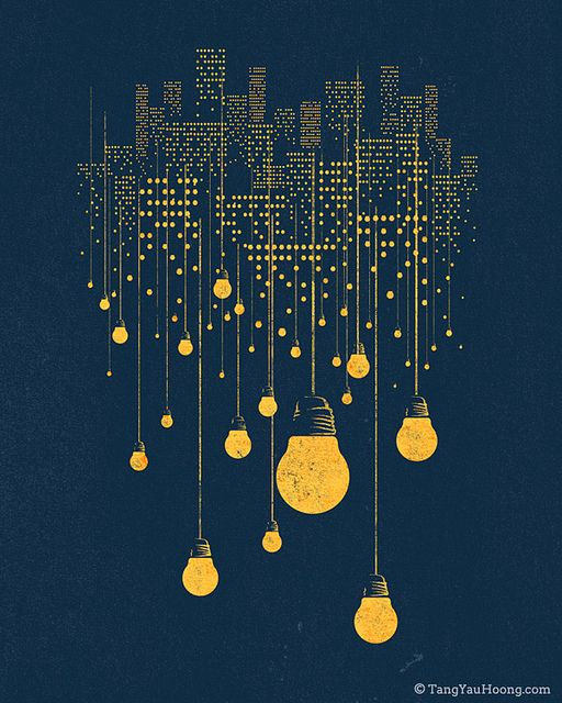 Tang Yau Hoong, who also made the negative space series (http://pinterest.com/pin/74450200059469324/), is back with Hanging City (via robot heart http://robot-heart.tumblr.com/post/15663717974/the-hanging-city-by-tangyauhoong)