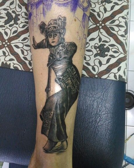 Balinese dancer  Balitattoo#blessinkart#tattoo