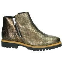 Tango Boots Brons met Slangenprint