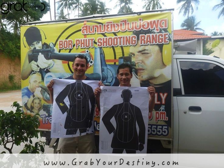 Jason Learning How To Shoot In Thailand! Scary... #KohSamui  #GrabYourDestiny #Travel #JasonAndMichelleRanaldi  #LearningHowToShoot #Thailand  www.GrabYourDestiny.com