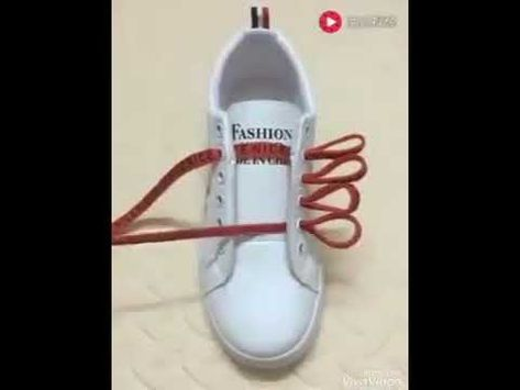 5db0c7f27f8a Lace Shoes- 5 cool ideas How to tie shoe laces - YouTube
