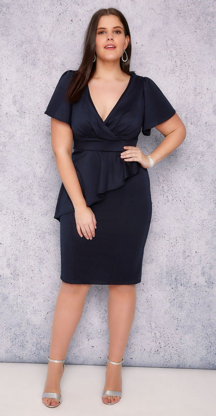 1000  images about Plus Size {Party Dresses} on Pinterest  Kay ...