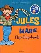 In dit flip-flap-boek kan je de outfits van Jules en Marie onderling combineren.