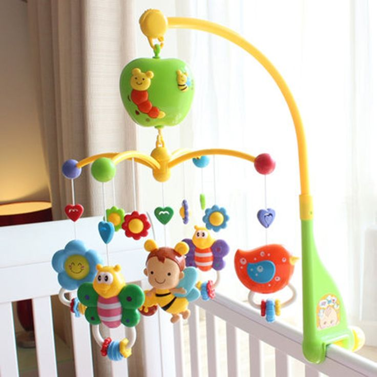 44.35$  Watch now - http://alichq.shopchina.info/go.php?t=32806371676 - Toy Musical Mobile For Baby Bed Wind Bell 0-12 Months Plastic Rattles Toy Pram Presepe Presepio Christmas Toddler Toys 704247  #SHOPPING