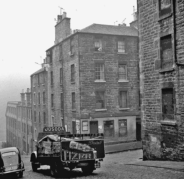 Edinburgh, Glasgow, Abandoned Buildings