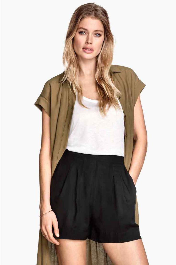 Pantalón corto High waist | H&M