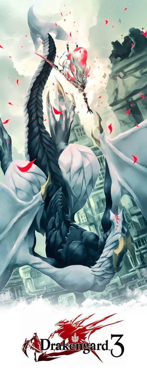 Drakengard 3 by Rousteinire on DeviantArt  Key: Zero, Yoko Taro, Kaine, Nier, City, Ruin, Square Enix, Victorian, Intoner