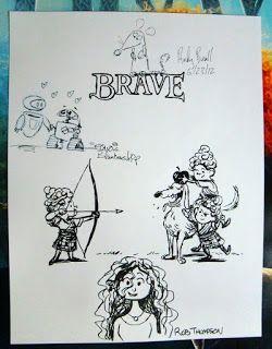 """もぎたて映画通信: """"BRAVE""""『メリダとおそろしの森』"""