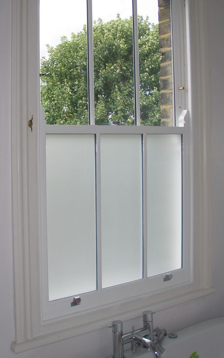 Privacy glass for bathroom windows - 16 Best Images About Bathrooms With Sash Windows On Pinterest