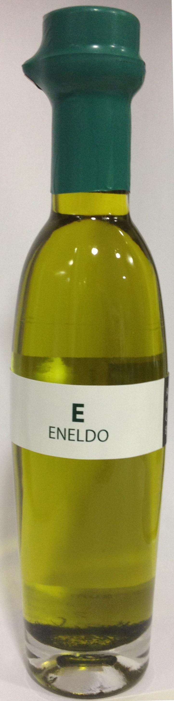 Aceite de oliva virgen extra ecostean con eneldo