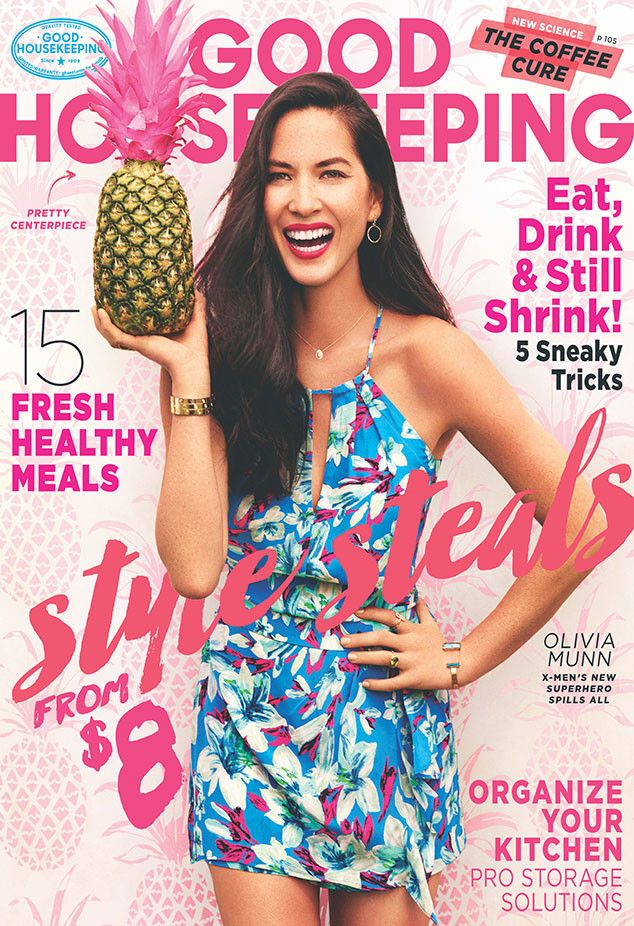 """Olivia Munn Says Aaron Rodgers """"Is Different Than Every Other Man I've Met"""" and Reveals How He Inspires Her  Olivia Munn, Good Housekeeping"""