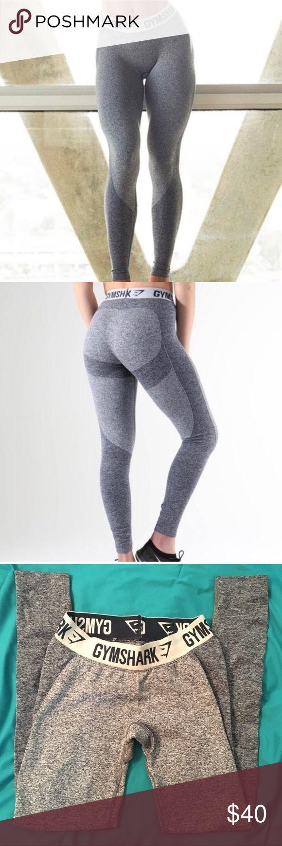 Gymshark flex leggings Sapphire blue and white leggings. Size small and true to size. Worn less than 5x Gymshark Pants Leggings