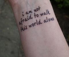 MCR lyrics; thinking on my back