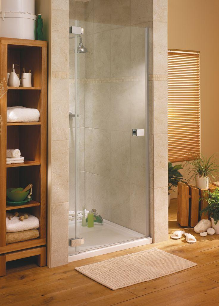 I like thisPesaro Alcove Shower Door #bathrooms