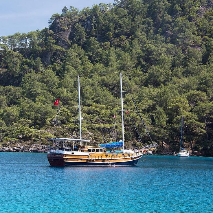 Can you picture yourself here? Anchored in a peaceful turquoise bay in the stunning Göcek Islands region of Turkey.  What's stopping you from enjoying a reasonably-priced all-inclusive completely custom private cruise on a luxury gulet with attentive crew and a professional chef?  Arkadaslik Yachting - Creating dream vacations one cruise at a time!  #luxury #gulet #yacht #bluecruise #bluevoyage #motorsailer #privateyacht #privatecharter #privateyachtcharter #sailing #sailingvacation…