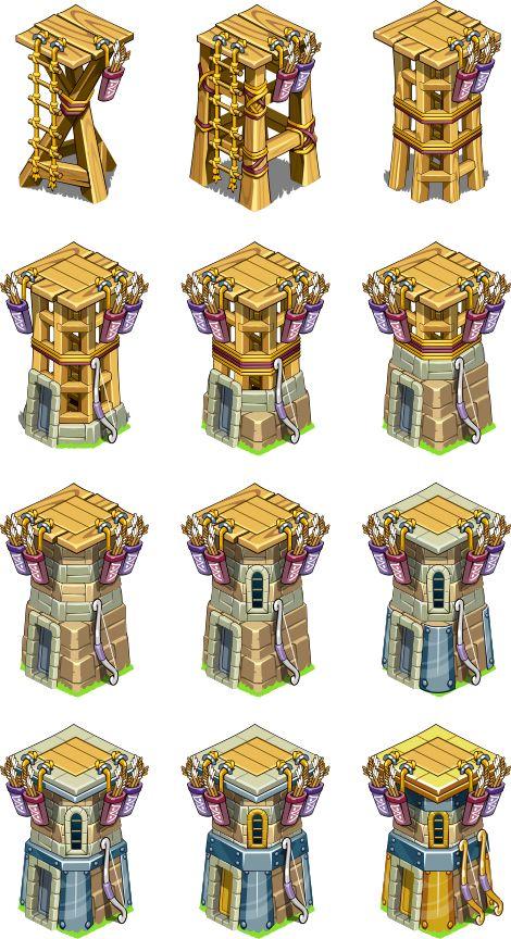 Archer Tower on Behance