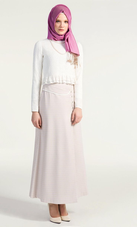 Tu Ba Store Tesett R Giyim Tesett R Elbise Pardes Manto Online Al Veri Hijab Look