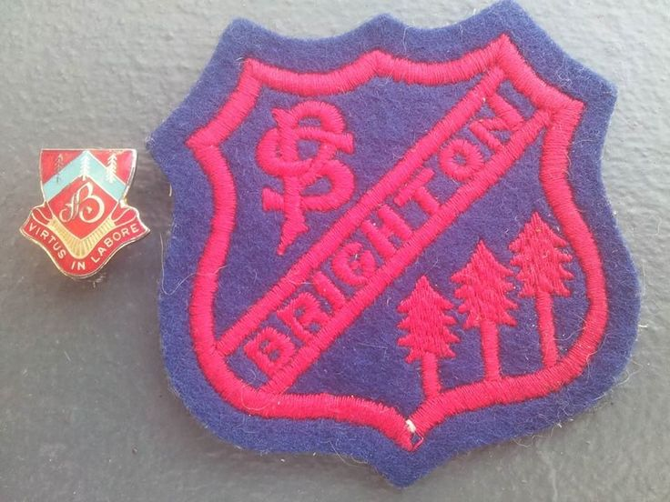 Brighton-le-Sands Public School badges C 1976