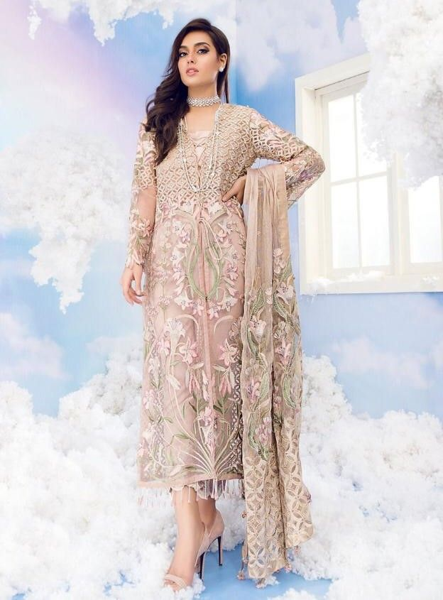d22c5ce6d8 Juvi Fashion Shaza Hasan Nx Pakistani style Suit (4 Pc Set ...