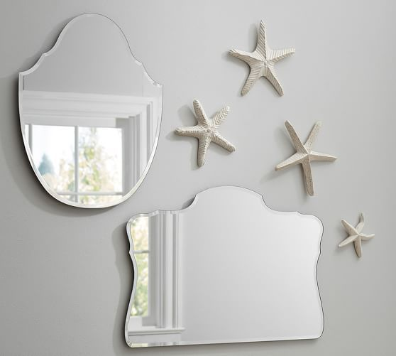 Piper Frameless Mirrors | Pottery Barn