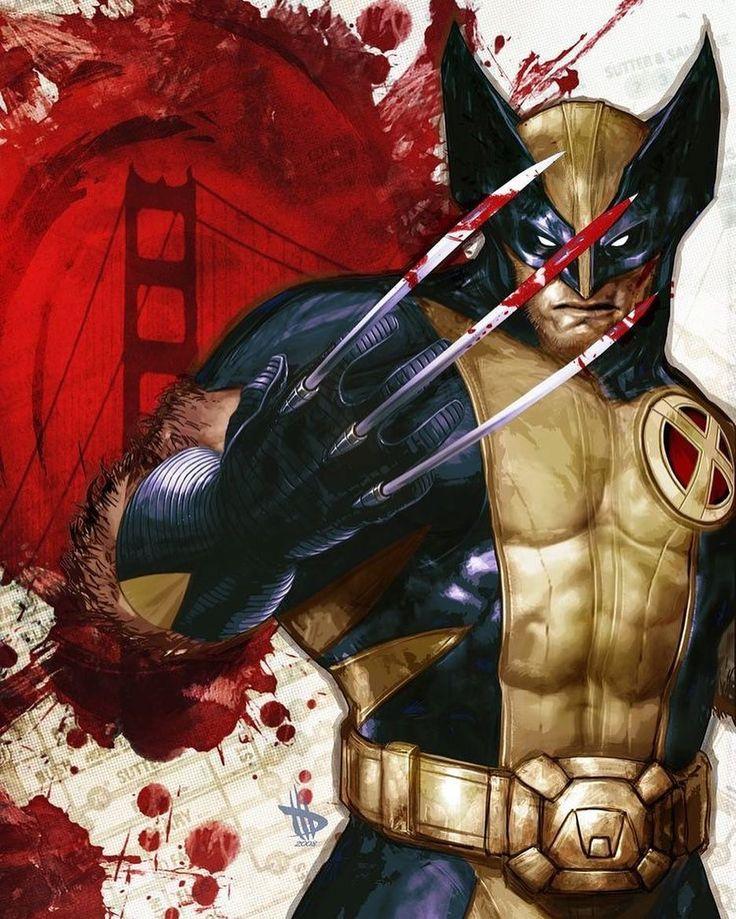 "8,116 Likes, 9 Comments - Legendary Comics (@legendary_comics) on Instagram: ""Wolverine! Artist: Dave Wilkins! #Wolverine #Marvel #MarvelComics #Art #DigitalArt #Comics"""