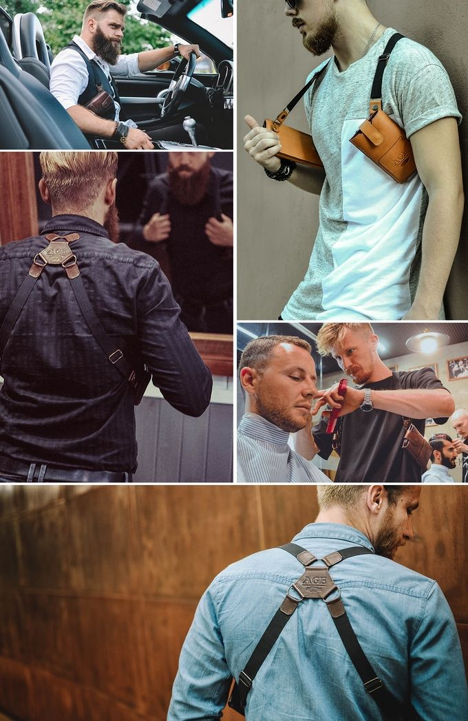 Phonster Handcrafted Holster Phonster is a completely different way for guys to carry their essential items, in a fashion similar to that of shoulder pistol holsters. Phonster is designed to help you...