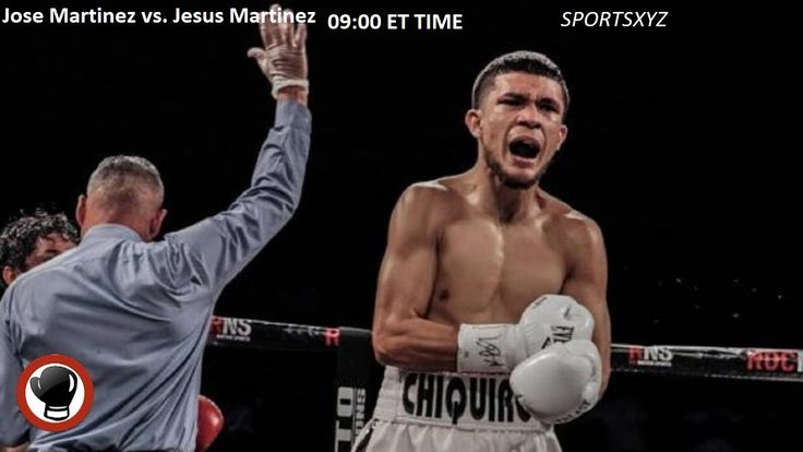 Jose Martinez vs. Jesus Martinez Fight Night
