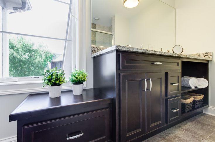 Rustoleum Countertop Paint Bubbles : Portfolio - Designers Point Bathroom Pinterest Designers and ...