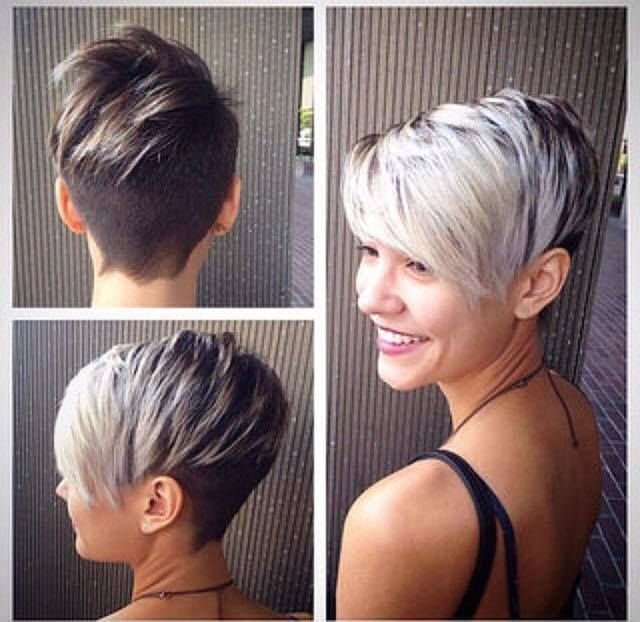 De 2015 kleuren; Wit, zilver, platina, sneeuwblond… 17 extreem trendy korte kapsels