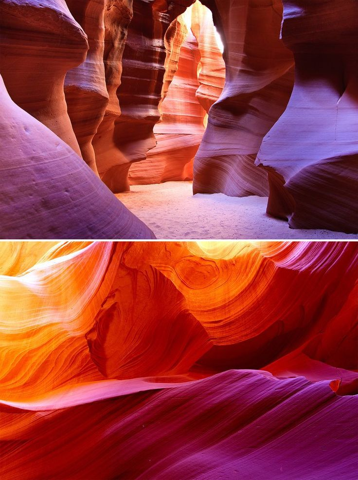 Antelope Canyon USA! 20 UNREAL Travel Destinations you have to see!! Click through to read the full post!