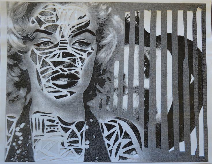 Décomposition Monroe | 2015 | Claudia Chartier