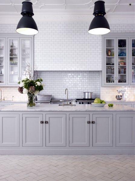light grey cabinet kitchens