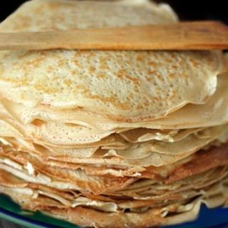 Grammy's Nalesniki (Polish Crepes)
