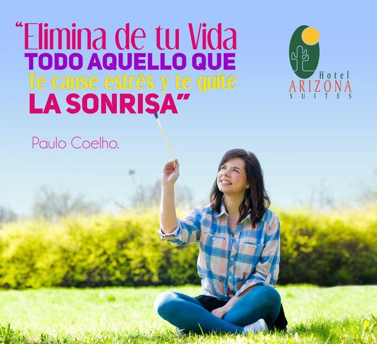 Elimina de tu Vida todo lo que te cause estrés y te quite la sonrisa.  feliz #FindeSemana #cucuta #Frasemotivadora