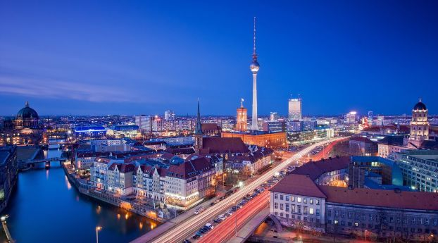 Berlin City Roads Wallpaper Hd City 4k Wallpapers Images Photos And Background Berlin City City Wallpaper Berlin