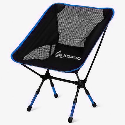 Amazon.com : Camping Chairs - Ultra Light Camp Chair By XOPRO - Heavy Duty Foldable Hiking Stool : Sports & Outdoors