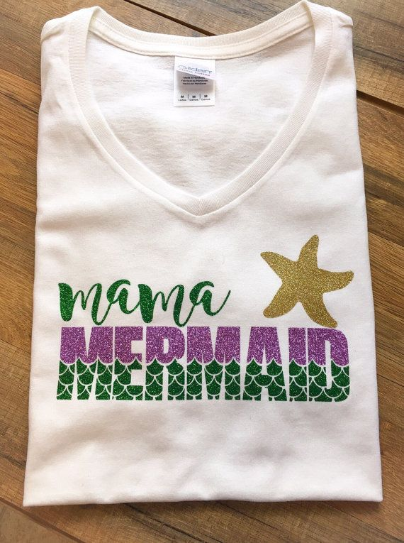 Hey, I found this really awesome Etsy listing at https://www.etsy.com/listing/460105580/mermaid-mama-t-shirt-shirt-mom-women