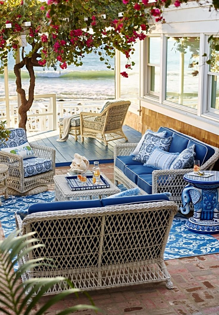 Lakeside Collection Patio Furniture: 175 Best Rhapsody In Blue Images On Pinterest