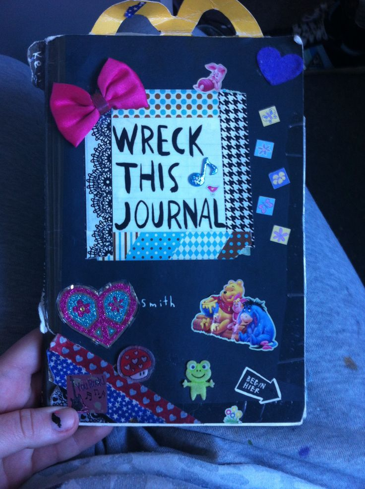My wreck this journal :D