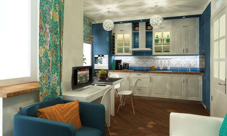 Кухня в небольшой питерской квартире - ALNO. Современные кухни: дизайн и эргономика | PINWIN - конкурсы для архитекторов, дизайнеров, декораторов