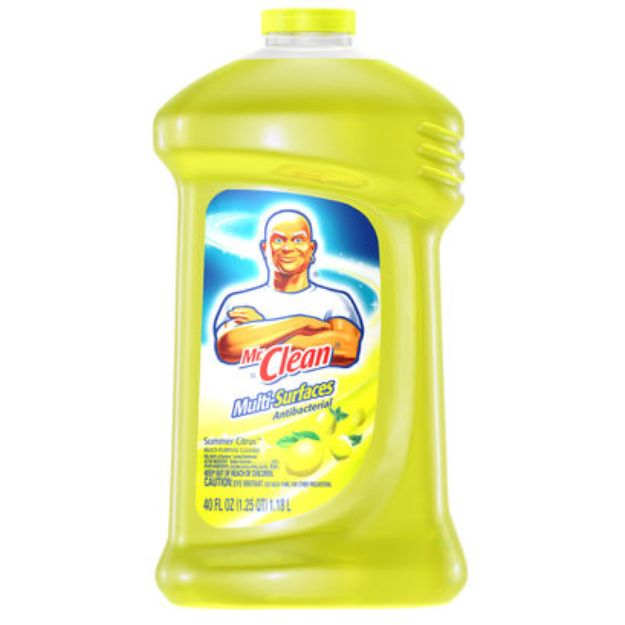 I M Learning All About Mr Clean Multi Purpose Antibacterial Summer Citrus At Influenster Cleaning Antibacterial Cleaner Carpet Shampoo