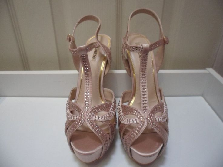 Womens Ladies Beige Diamante High Heel Strappy Sandals Shoes Size UK 5,6,7 New  Useful Info:  - Standard Size - Standard Fit - By Jumex - Beige In Colour - Heel Height: 6 Inches - Platform: 1.5 Inches - Diamantes All Over  - Buckle To Side Fastening - Satin Upper #shoes #sandals #beige #highheel #highheels #strappy #stiletto #party #diamantes #platform #stiletto #fashion #footwear #forsale #womens #ladies #ebay #ebayseller #ebayshop #ebaystore