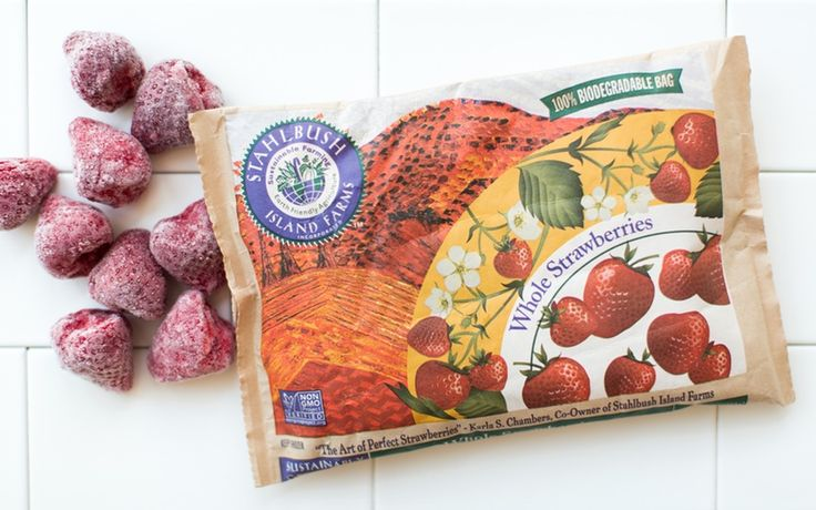 Stahlbush Island Farms Frozen Strawberries