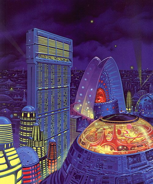 10 Cool Sci Fi Retro Artworks: 53 Best SUBJECT // Retrofuturism. Images On Pinterest