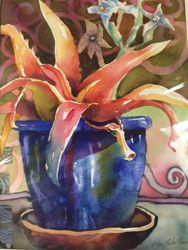 Helen Shafer Garcia watercolor